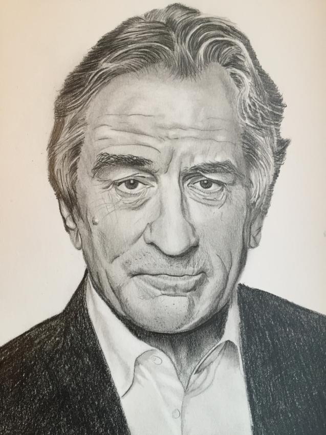 Robert De Niro by Douwsma